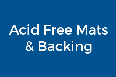 Acid Free Mats & Backing