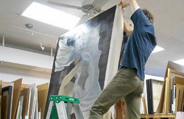 Specialty custom framed artwork by Gregory Frame Shop in Naples, Florida
