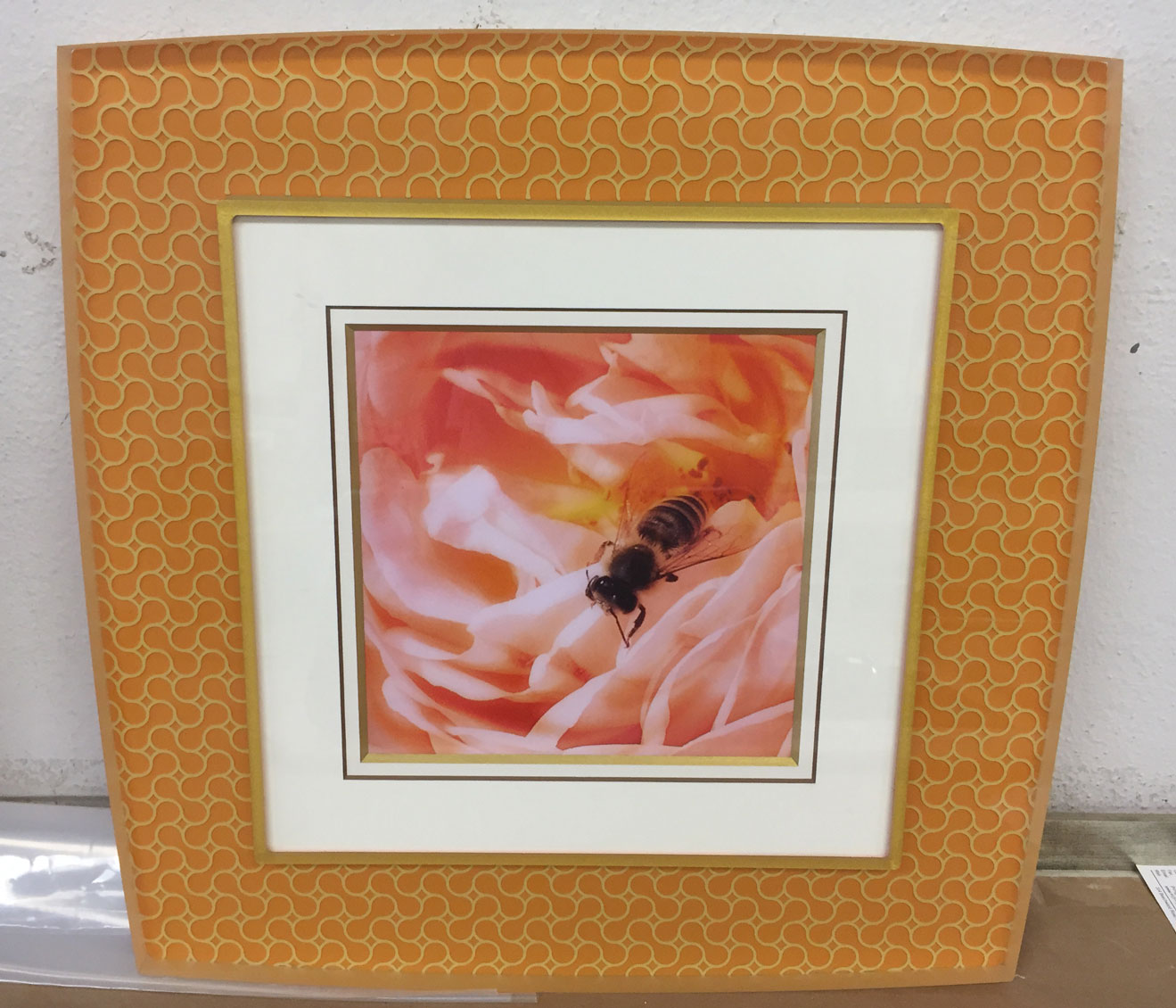 Prisma acrylic frame example from Gregory Frame Shop in Naples, Florida